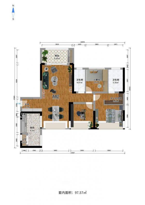 大自然地板教你装修出一个北欧风的家