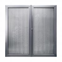 方寸之间皆是景,中式铝艺庭院门-卫朗铝艺