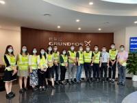 京东工业品访问格兰富苏州工厂  与民用建筑业务部探讨深入合作  共谱美好未来