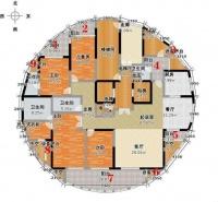 260㎡的房子,全屋却有9个阳台,网友吐槽:装修阳台都封不起!
