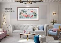 室内装饰画挂什么好 精致花鸟画生活更有艺术范儿