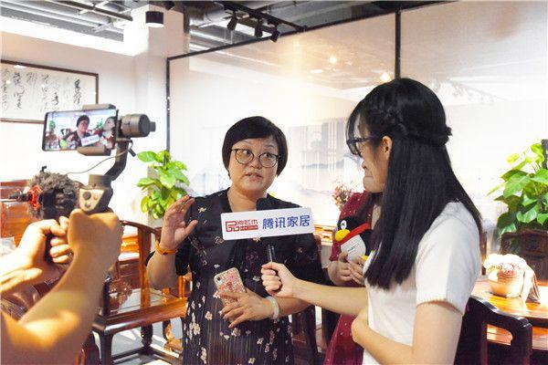 第三届新中式红木展通过腾讯家居直播让展商特色快速广