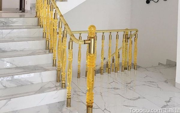 水晶楼梯扶手