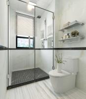 卫生间像这样做干湿分离,能让你省下大把的清洁时间!